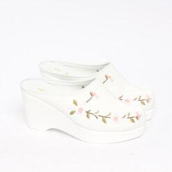 민속방 벗꽃 상굽 한복슬리퍼 (8cm) (8)