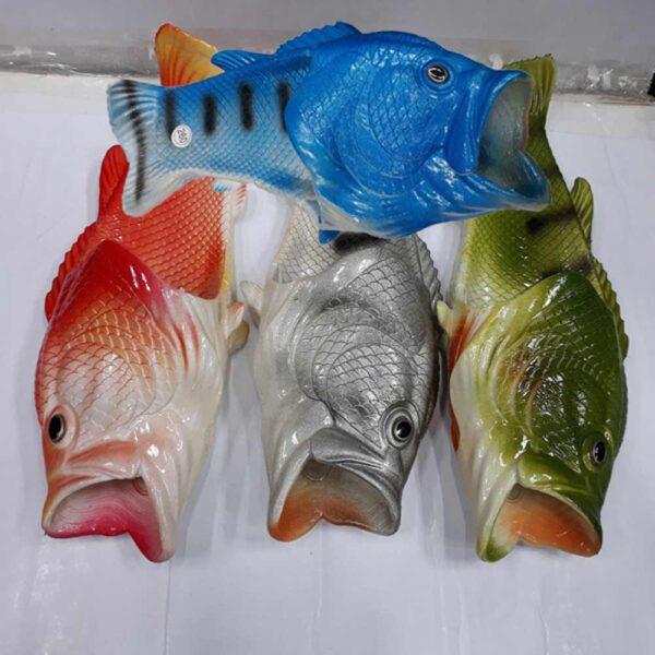 물고기 리얼피쉬 생선슬리퍼 (1)