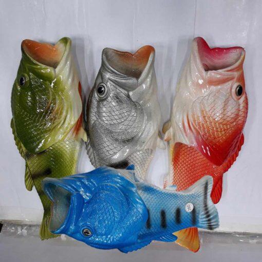 물고기 리얼피쉬 생선슬리퍼 (3)